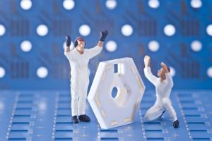 Mehrlagen PCB in LTCC-Technologie